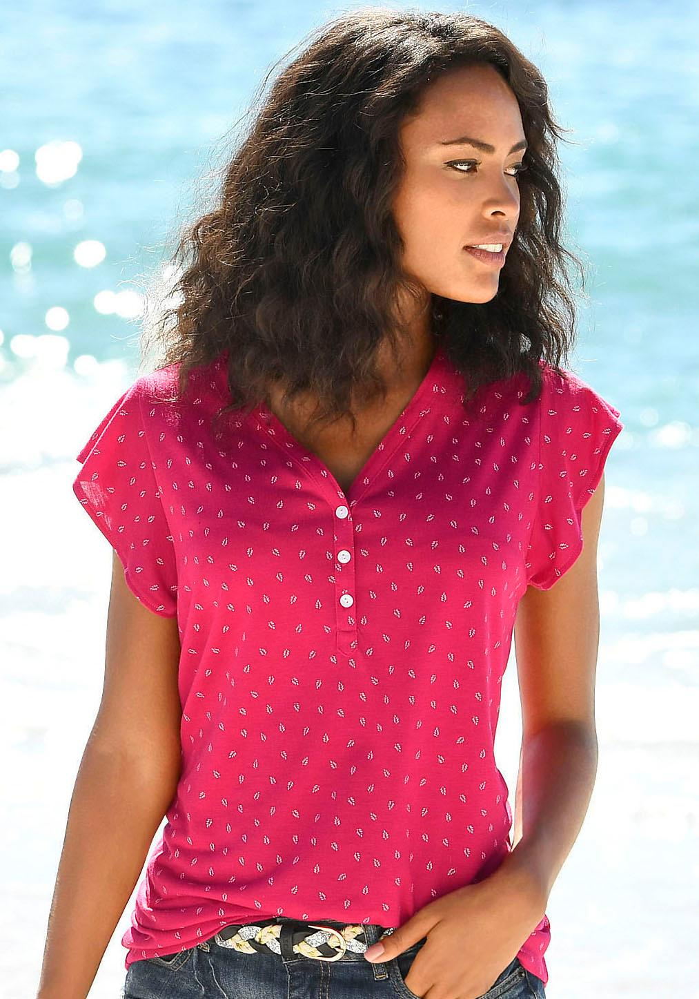 LASCANA Shirttop | Bekleidung > Tops | Lascana