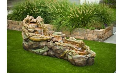 UBBINK Gartenbrunnen »Tripani«, mit LED, BxTxH: 263x80x88 cm kaufen