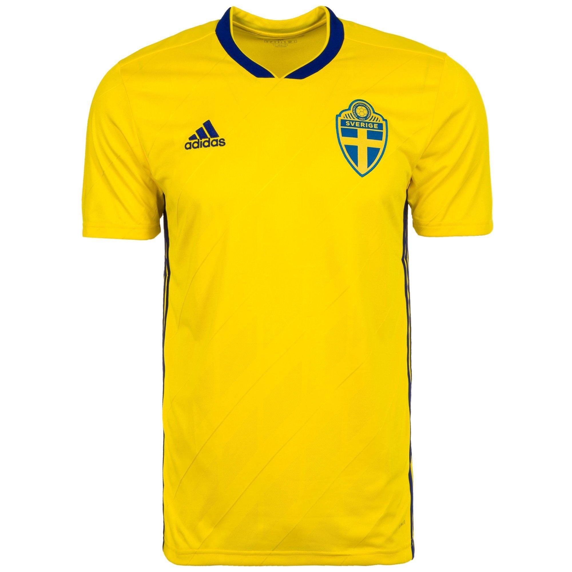 adidas Performance Fußballtrikot Schweden Trikot Heim   Sportbekleidung > Trikots > Fußballtrikots   Adidas Performance