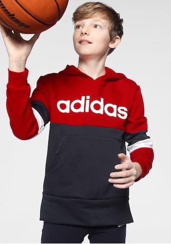 adidas Performance Hoodie »LINEAR COLORBLOCK HOODED FLEECE« kaufen