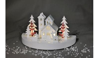 HGD Holz - Glas - Design Diorama Weihnachtsfrieden kaufen