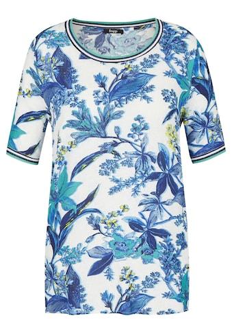FRAPP Extravagante Bluse mit Blumen-Print kaufen