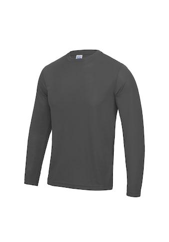 AWDIS Longsweatshirt »Just Cool Herren T-Shirt Langarm Cool Performance« kaufen