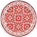 Q Squared NYC Speiseteller »Talavera Collection«, (Set, 2 St.), Ø 27 cm, Melamin