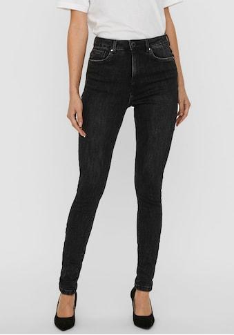 Vero Moda High - waist - Jeans »VMLOA HR SKINNY« kaufen