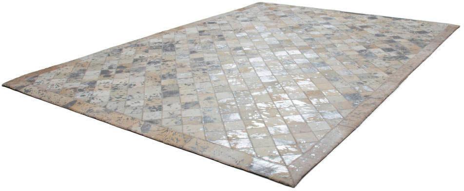 Lederteppich Lavish 210 Kayoom rechteckig Höhe 8 mm Naturprodukt