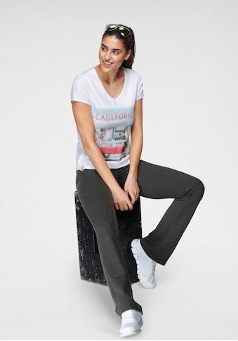 KangaROOS T-Shirt, mit sommerlichem Frontprint kaufen