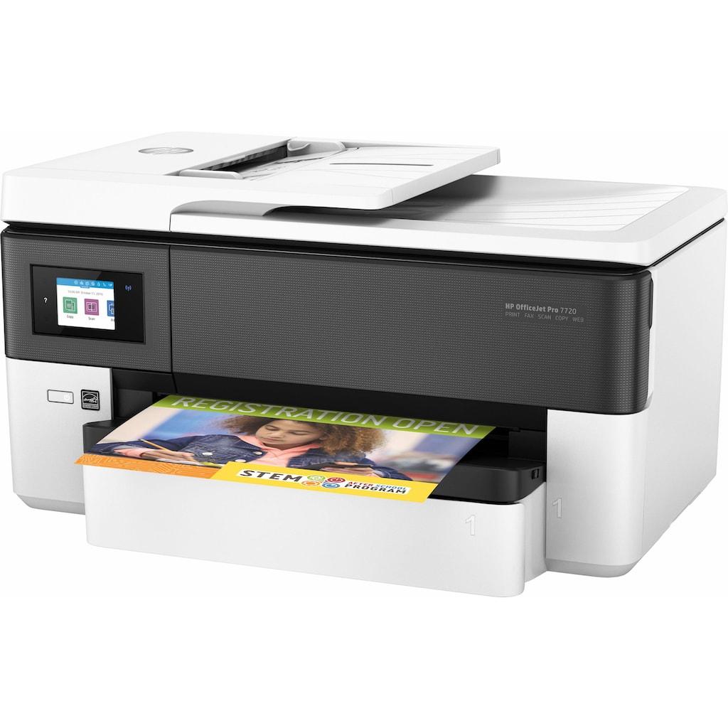 HP Multifunktionsdrucker »Pro 7720 Wide«, inkl. Office-Anwendersoftware Microsoft 365 Single im Wert von 69 Euro