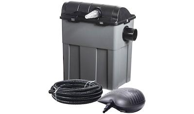HEISSNER Teichfilter »FPU10100 - Set«, mit UVC - Klärer, Förderleistung: 3.300 l/h / 40W kaufen