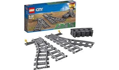 LEGO® Konstruktionsspielsteine »Switch Tracks (60238), LEGO® City«, (6 St.), Made in... kaufen