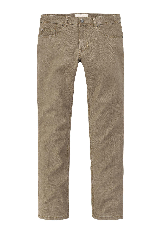 Redpoint modische Stretch 5-Pocket Barrie | Bekleidung > Hosen > Stoffhosen | Braun | Elasthan | Redpoint