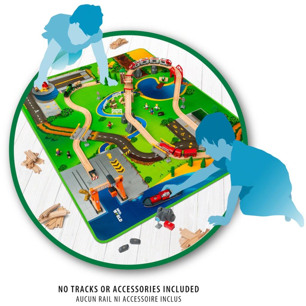 BRIO® Spielzeugeisenbahn-Erweiterung »Eisenbahn-Spielmatte«, für die Brio Eisenbahn; FSC® - schützt Wald - weltweit
