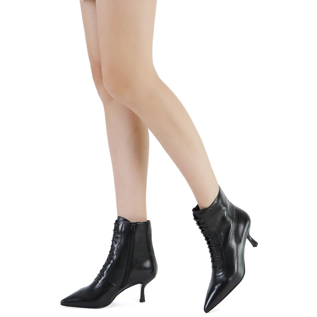 ekonika Stiefelette, aus echtem Leder