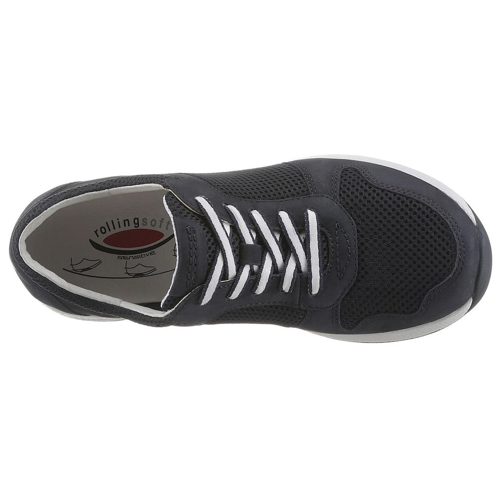 Gabor Rollingsoft Keilsneaker, mit Optifit Wechselfußbett