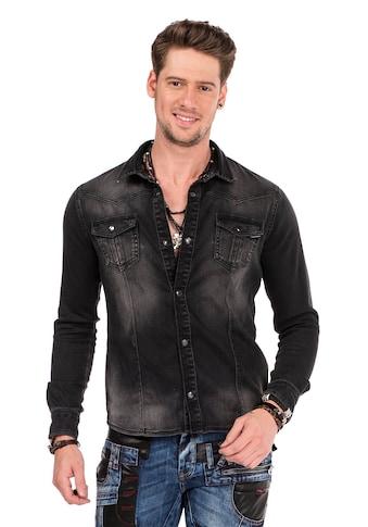 Cipo & Baxx Jeanshemd, mit Brusttaschen kaufen
