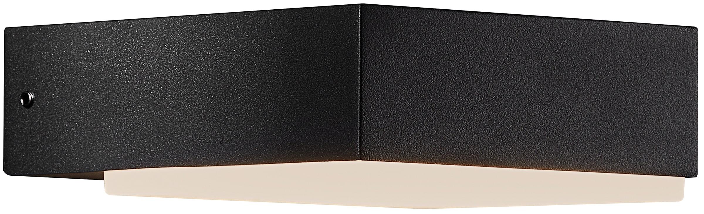 Nordlux LED Wandleuchte PIANA, LED-Modul, Innen und Außen Leuchte, 5 Jahre Garantie auf die LED