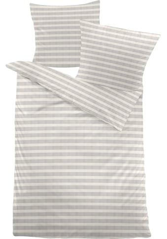 Schloß Holte Bettwäsche »Multistreifen«, mit zarten Streifen kaufen