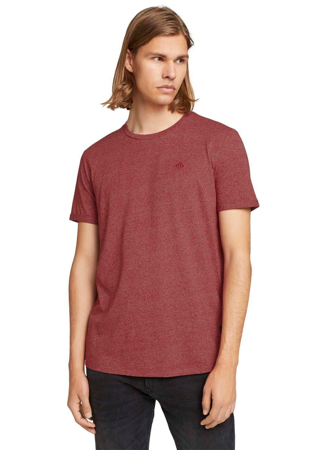 tom tailor denim -  T-Shirt, mit Strukturmuster