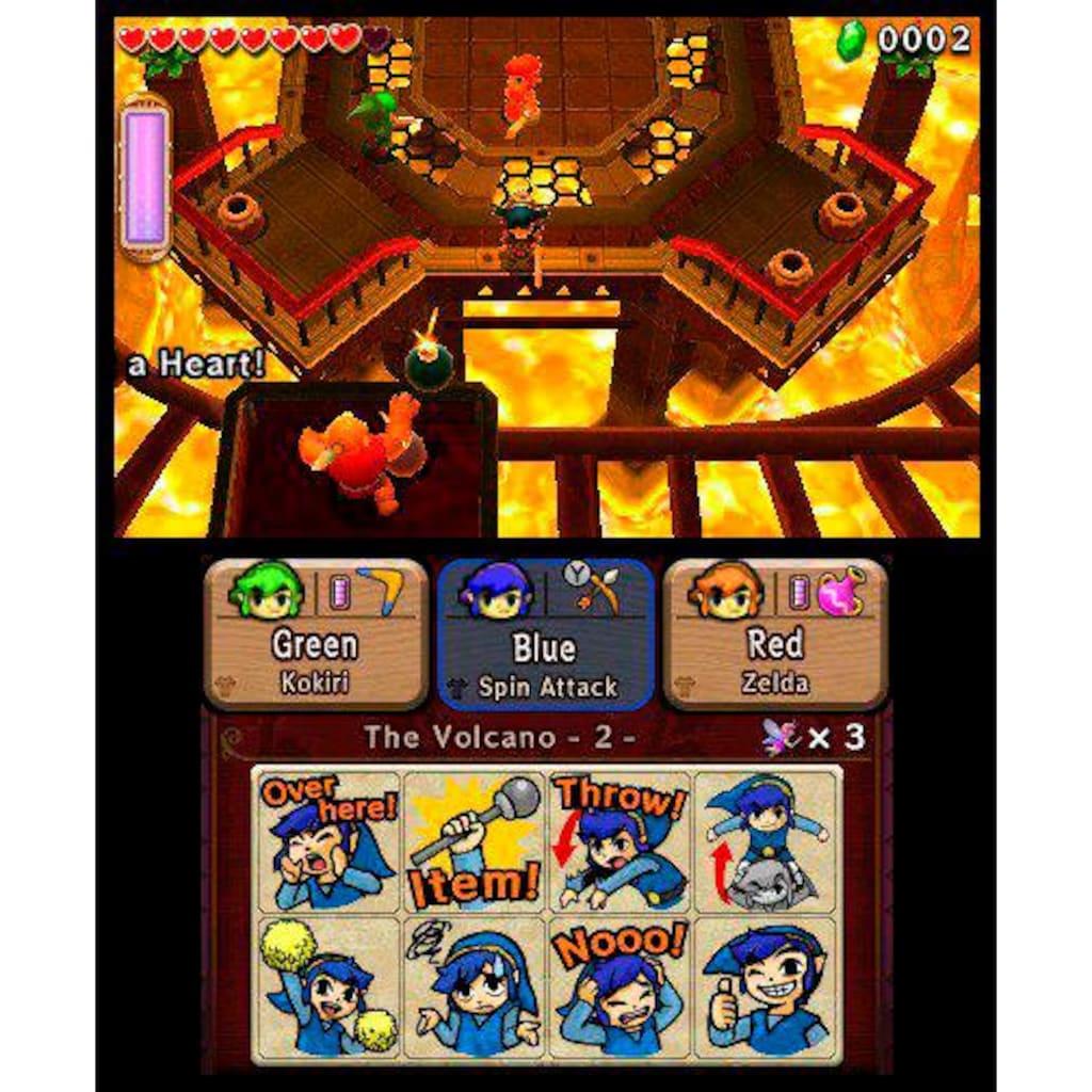 Nintendo Spiel »The Legend of Zelda: Tri Force Heroes«, Nintendo 3DS, Software Pyramide