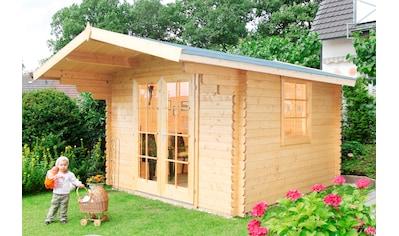 WOLFF FINNHAUS Gartenhaus »Breda«, BxT: 360x450 cm kaufen