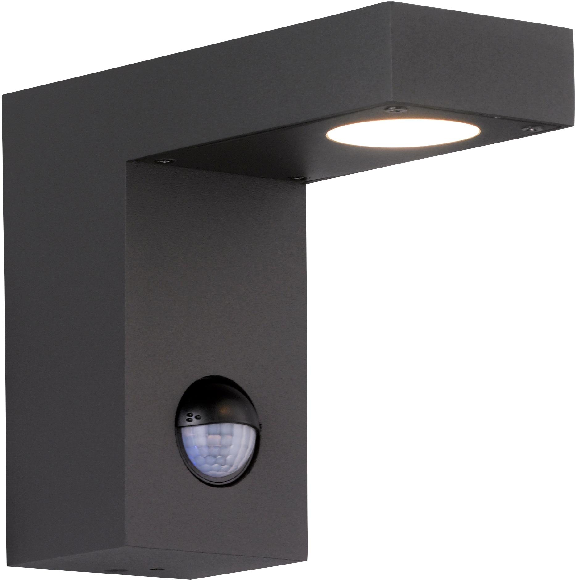 WOFI Außen-Wandleuchte BROOKLYN, LED-Modul, Warmweiß