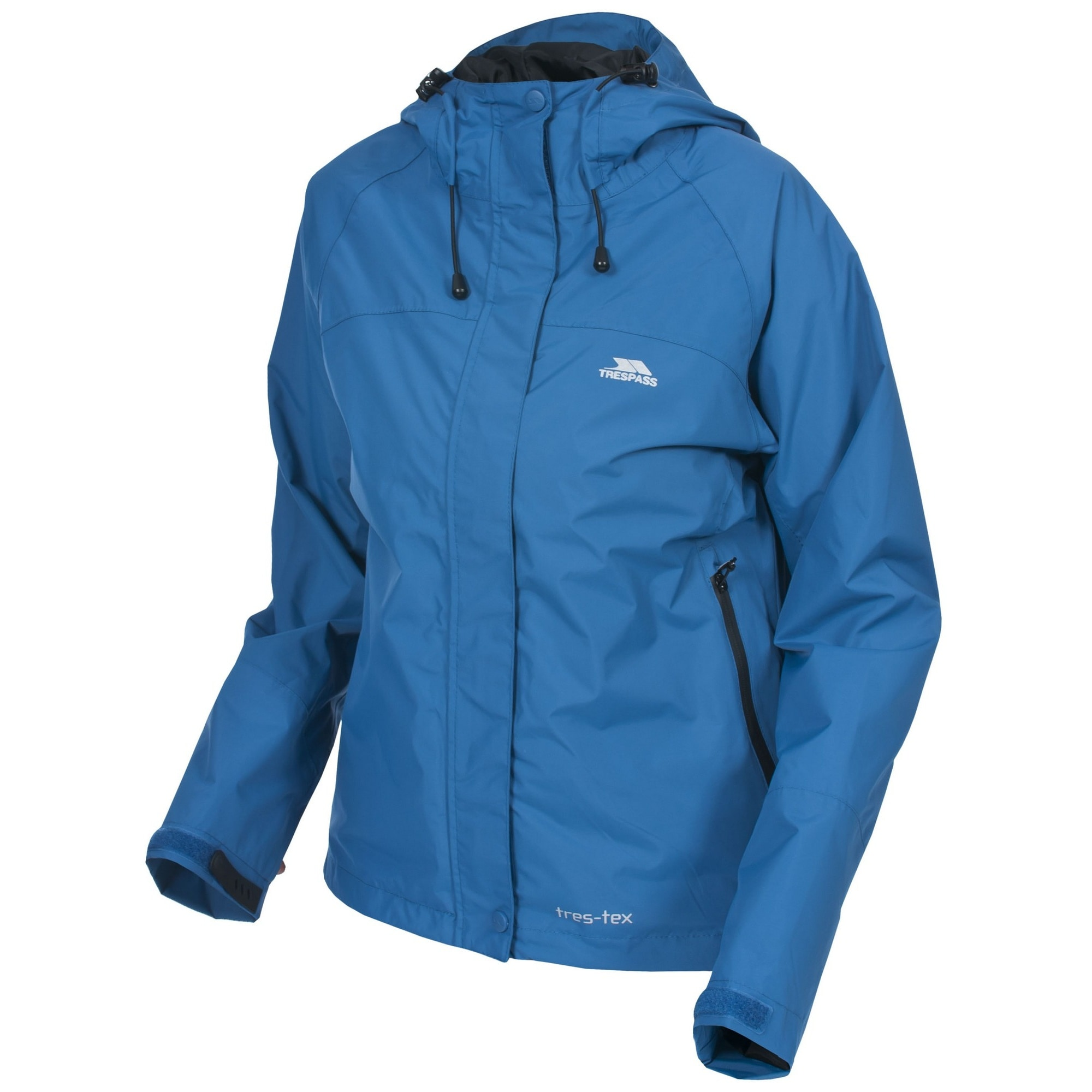 Trespass Outdoorjacke Miyake Damen Jacke mit Kapuze wasserabweisend