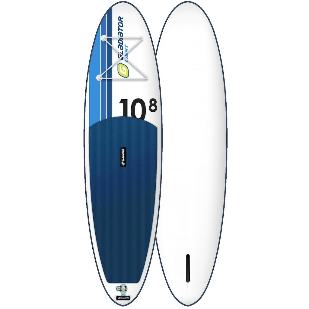 GLADIATOR Inflatable SUP-Board »Gladiator LT 10.8 SP«, (Set)