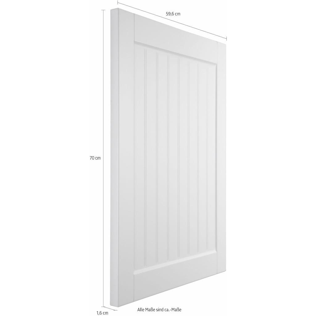 OPTIFIT Frontblende »Cara«, Tür für vollintegierbaren Geschirrspüler 60 cm