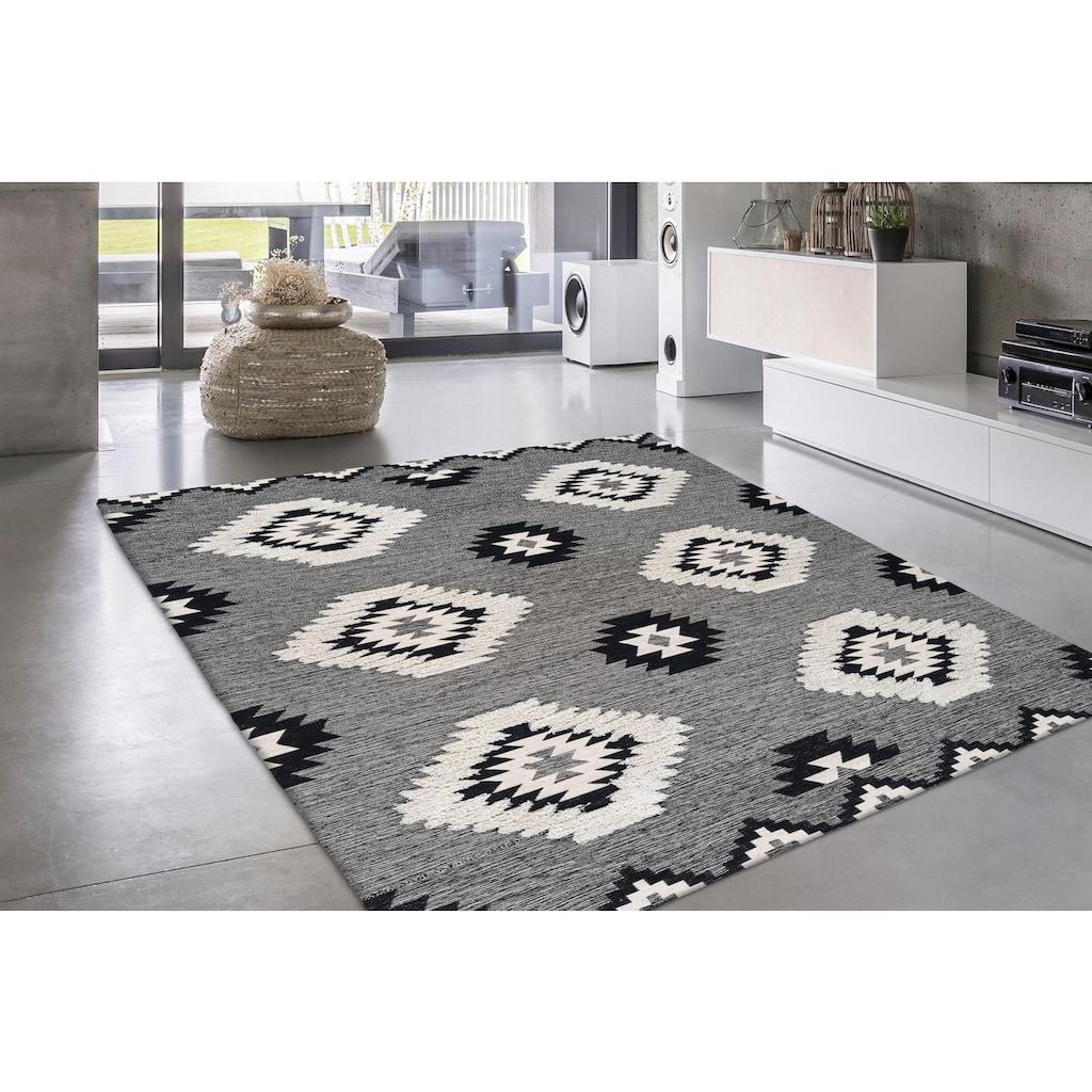 DELAVITA Teppich »Tilda«, rechteckig, 10 mm Höhe, Wohnzimmer