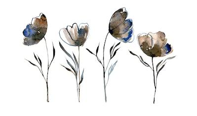 queence Leinwandbild »Blumen« kaufen