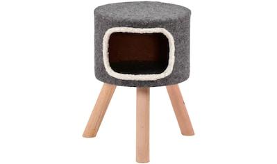 SILVIO design Tierbett »Easy«, Katzenhoehle, BxLxH: 42x42x50 cm kaufen