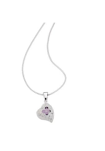 Diamonds by Ellen K. Anhänger mit Kette »925/ -  Sterling Silber Diamant Amethyst« kaufen