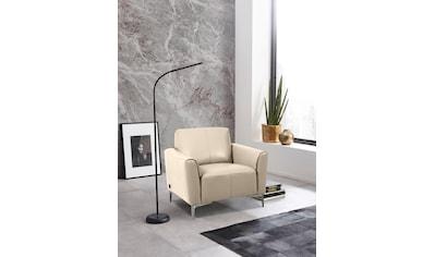 Places of Style Sessel »Akron«, in modernem Design und zwei Bezugsqualitäten kaufen
