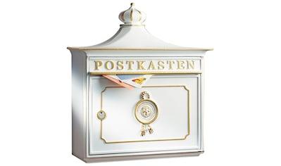 BURG WÄCHTER Briefkasten »Bordeaux 1895 W«, Guss kaufen