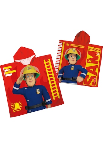 Feuerwehrmann Sam Badeponcho »Feuerwehrmann Sam«, (1 St.), mit Kapuze kaufen