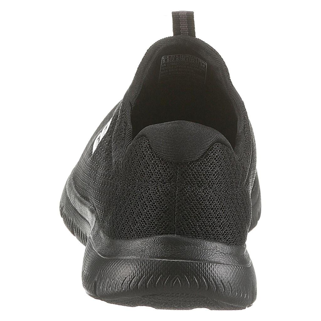 Skechers Slip-On Sneaker »Summits«, mit Gummizug