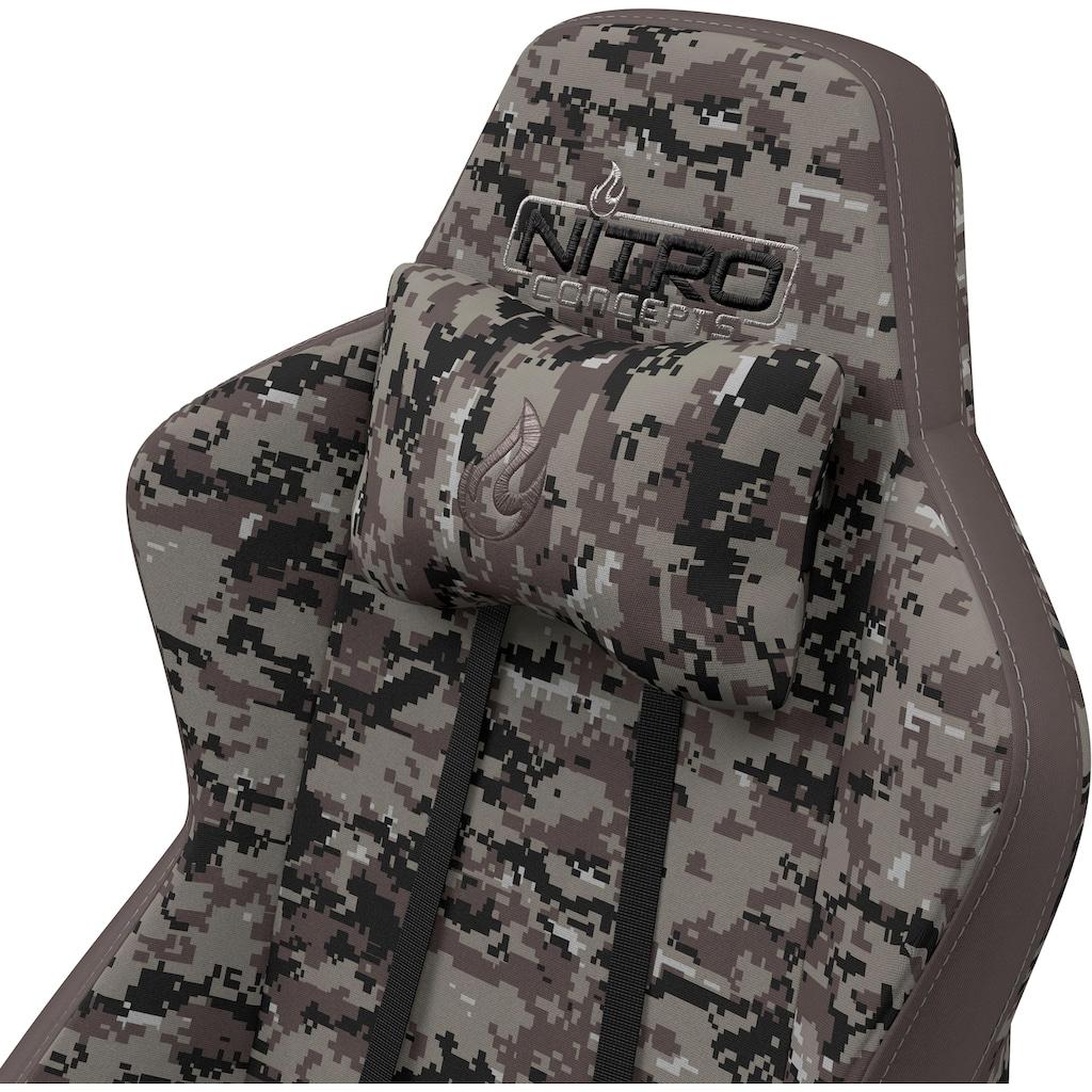 NITRO CONCEPTS Gaming-Stuhl »S300 Urban Camo Gaming Chair«, Bürostuhlzertifizierung DIN EN 1335