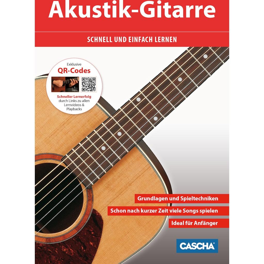 Cascha Konzertgitarre »Stage Series«, 4/4, inkl. Gitarrenschule und Stimmgerät