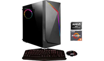 Hyrican »Onyx 6573« Gaming - PC (AMD, Ryzen 5, RX 580, Luftkühlung) kaufen
