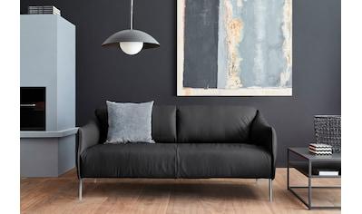 W.SCHILLIG 2,5-Sitzer »sally«, mit Metallfüßen in Chrom glänzend, Breite 194 cm kaufen