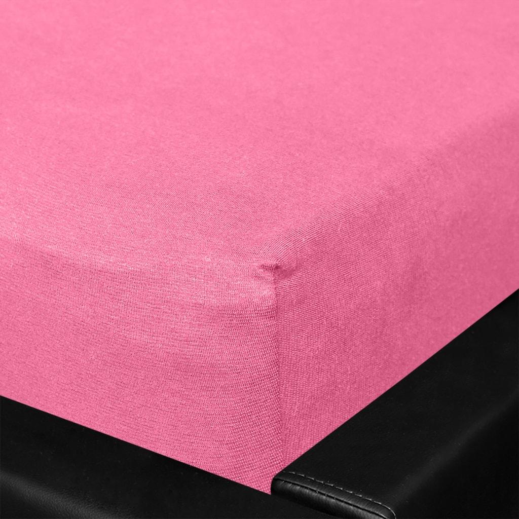 BETTWARENSHOP Spannbettlaken »Multi-Stretch«, sehr elastisch und formstabil
