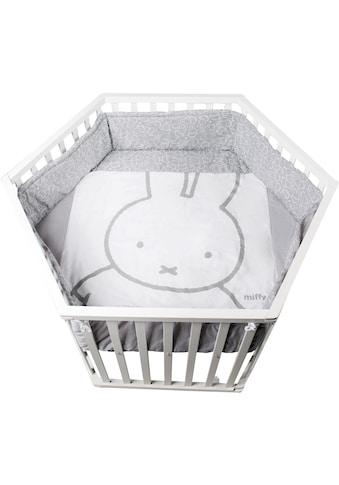 roba® Laufgitter »Miffy, 6-eckig«, bis 15 kg, mit Laufgittereinlage kaufen