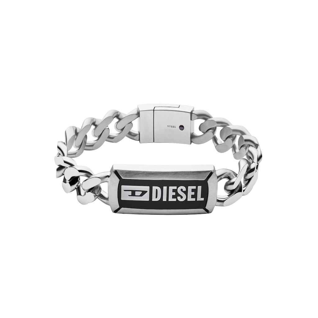 Diesel Edelstahlarmband »DX1242040«, mit Achat