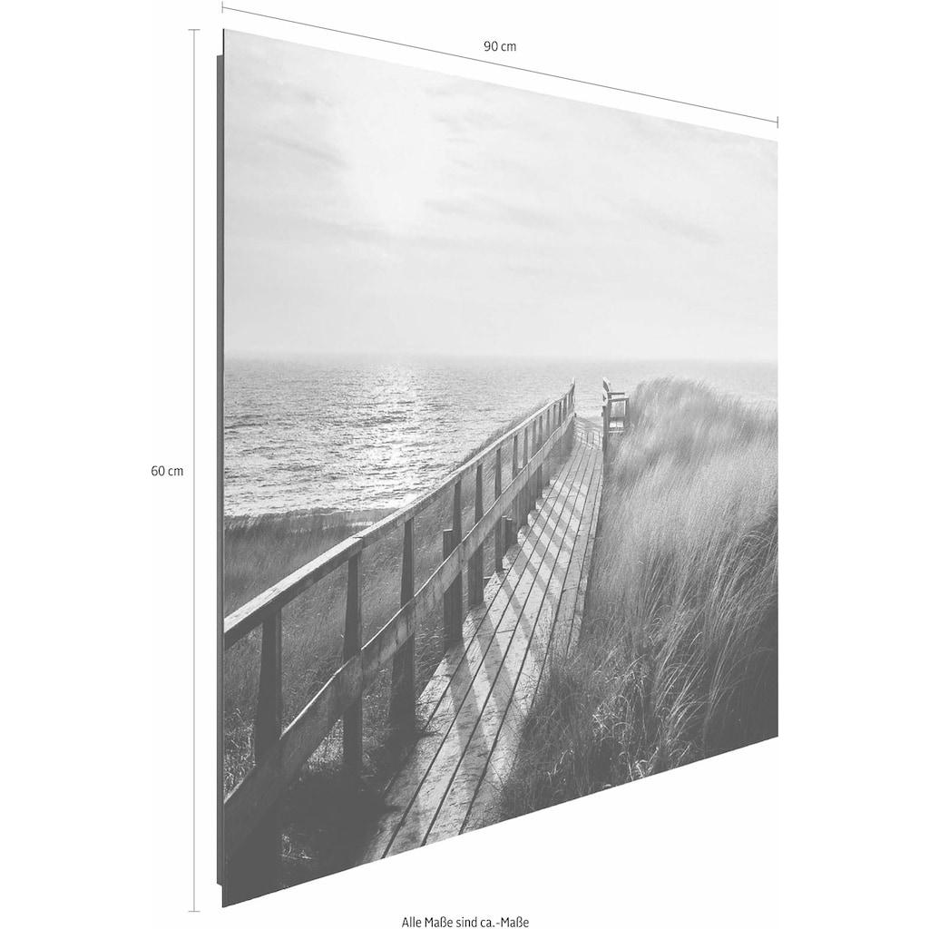 Reinders! Deco-Panel »Weg zum Strand«, 90/60 cm