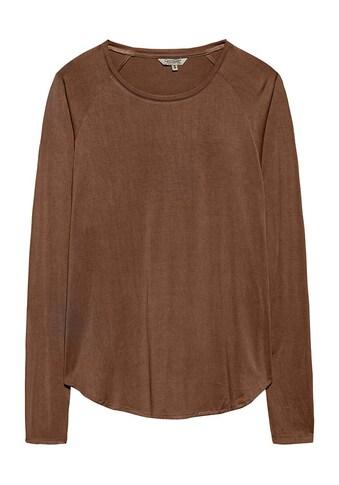 Herrlicher Langarmshirt »Vivi«, mit modernem Rundhalsausschnitt kaufen