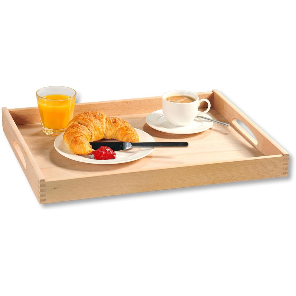 KESPER for kitchen & home Tablett, Maße: 50 x 39 x 4,5 cm
