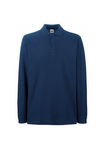 Fruit of the Loom Langarm-Poloshirt »Premium Herren Polo-Shirt, Langarm« kaufen
