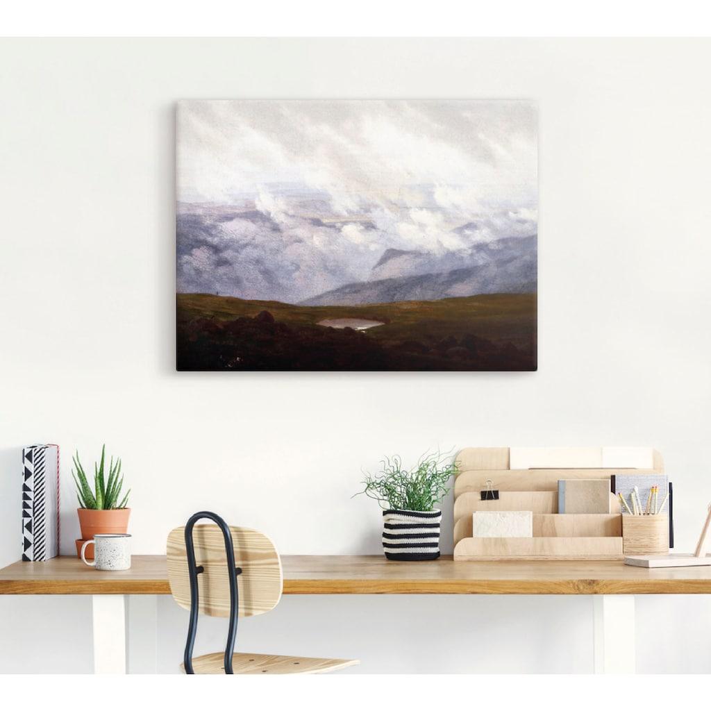 Artland Wandbild »Ziehende Wolken, 1821«, Felder, (1 St.), in vielen Größen & Produktarten -Leinwandbild, Poster, Wandaufkleber / Wandtattoo auch für Badezimmer geeignet