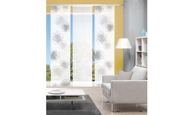 Vision Schiebegardine »SPOTTI 3er SET«, Bambus-Optik, Digital bedruckt kaufen