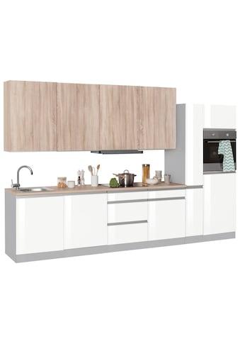 HELD MÖBEL Küchenzeile »Ohio«, mit E-Geräten, Breite 330 cm kaufen